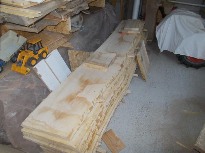 Fabrication d'une cuisine en frêne olivier Snag-014