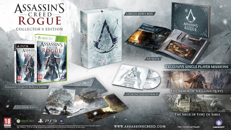 Assassin's Creed Rogue Edition Collector 03266610