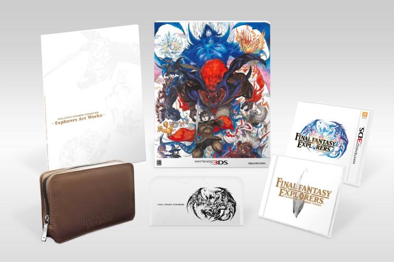 Final Fantasy Explorers édition collector sur 3DS 11277110