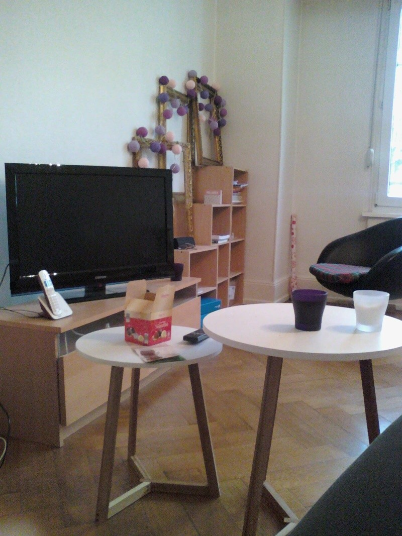 Peinture, aménagement et déco pour mon nouveau salon!  14122824