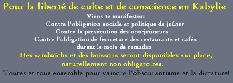 Akbou: Rassemblement pour la liberté de conscience et contre l'inquisition le samedi 12 juillet 2014 à 11h 10520062