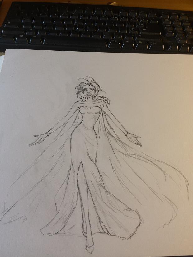 Dessins hors Lady Oscar Elsa10