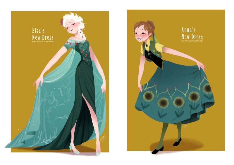 La Reine des Neiges : Une Fête Givrée [Cartoon Walt Disney - 2015] - Page 3 Frozen10
