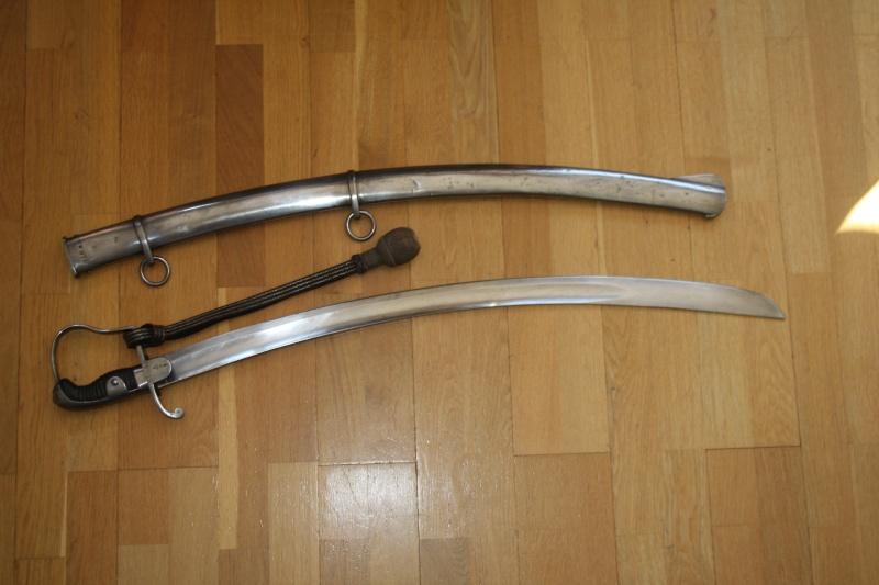 Sabres anglais cavalerie légère 1796. 00210