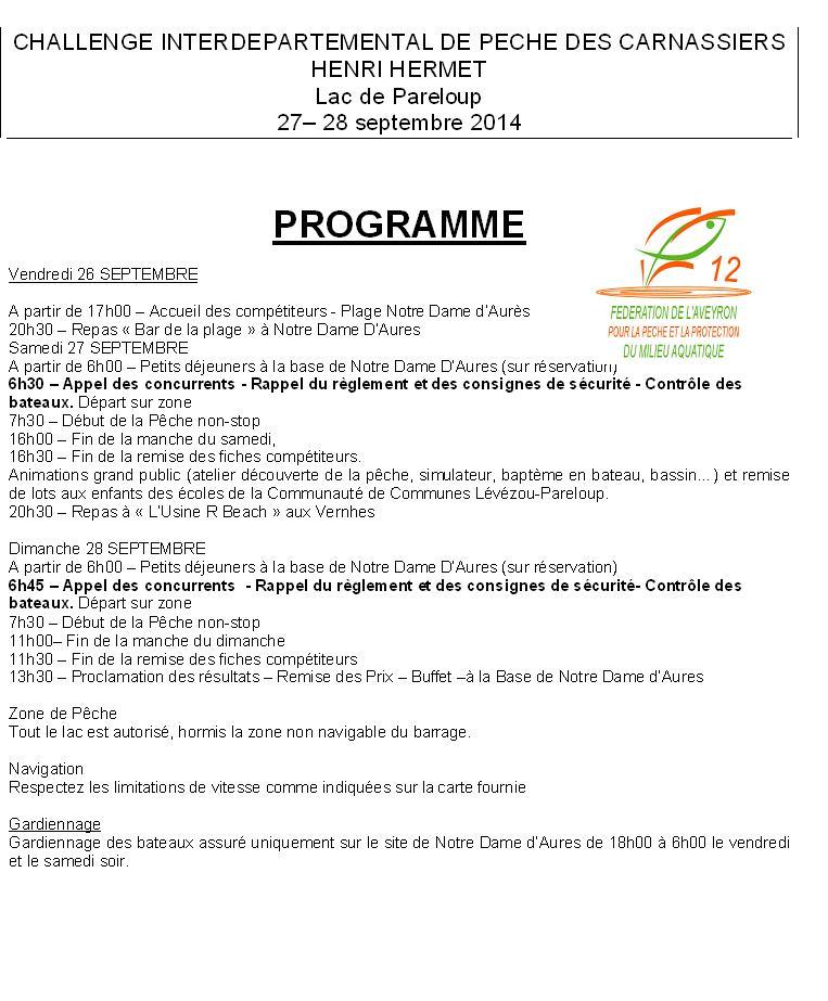 Manche de Pareloup - 27 & 28 septembre 2014 Lac_pa10