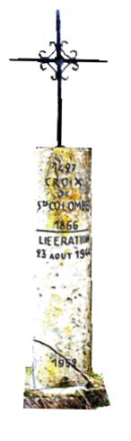 La Libération à Châlette Sur Loing et aux environs de Montargis - 1944  Croix_10