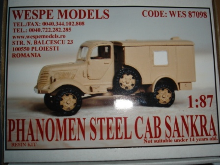 Phanomen Steel Cab Sankra Wespe models 1/87 Ph1_110