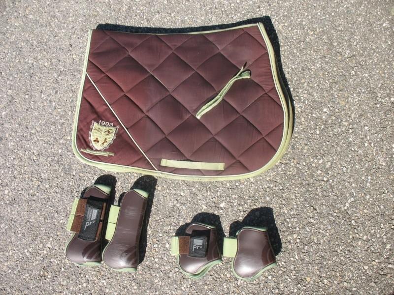 Beaucoup de matériel à vendre (tapis, sangle, couverture, protections CSO, guêtres dressage, licol étho, veste imper, ...) Img_6217