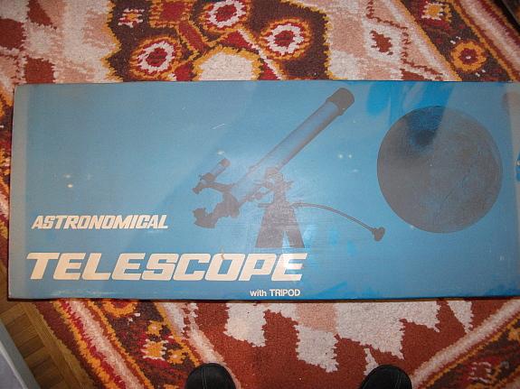 Вот вдруг захотелось обзавестись телескопом Tele110