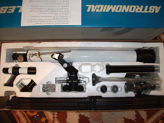 Купил телескоп...... Tele210
