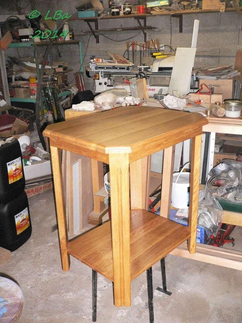 gu ridon fait de chutes de bois d 39 arbre page 2. Black Bedroom Furniture Sets. Home Design Ideas