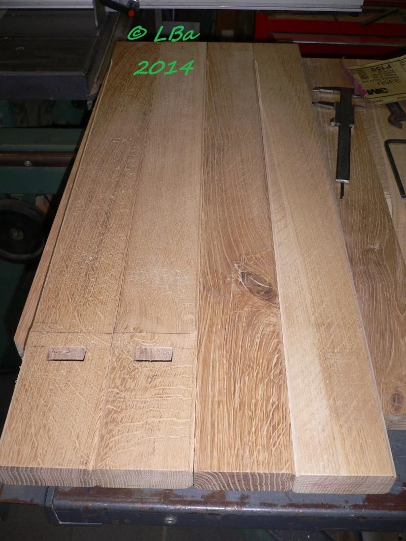 Guéridon fait de chutes de bois d'arbre Mts_mo11