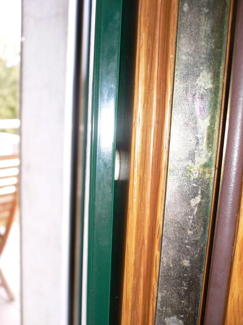 Sciage mixte bois/alu sur des fenêtres bois rénovées en fenêtres aluminium Profil10