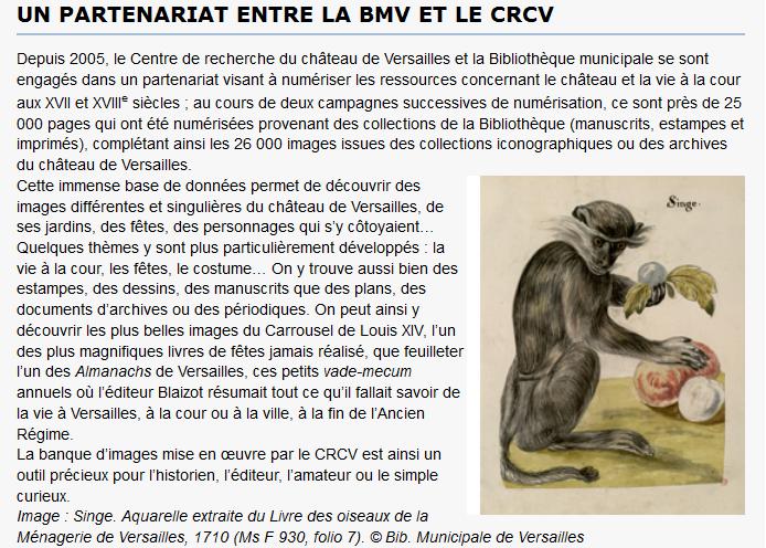 Soirée « Patrimoine écrit et numérique » (Versailles) Captur17