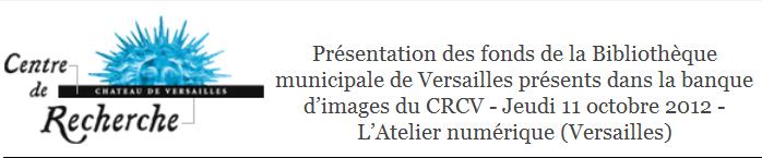 Soirée « Patrimoine écrit et numérique » (Versailles) Captur19