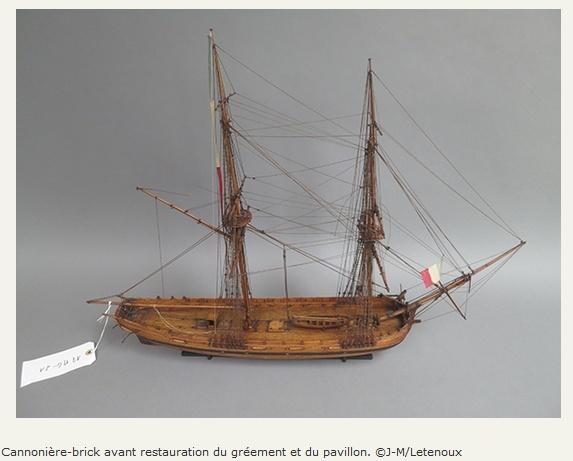 Maquettes de la Marine impériale, Grand Trianon, juin 2014 - Page 2 Colltr14