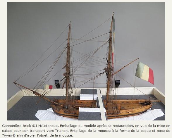 Maquettes de la Marine impériale, Grand Trianon, juin 2014 - Page 2 Colltr15