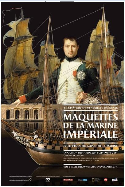 Maquettes de la Marine impériale, Grand Trianon, juin 2014 Maquet10