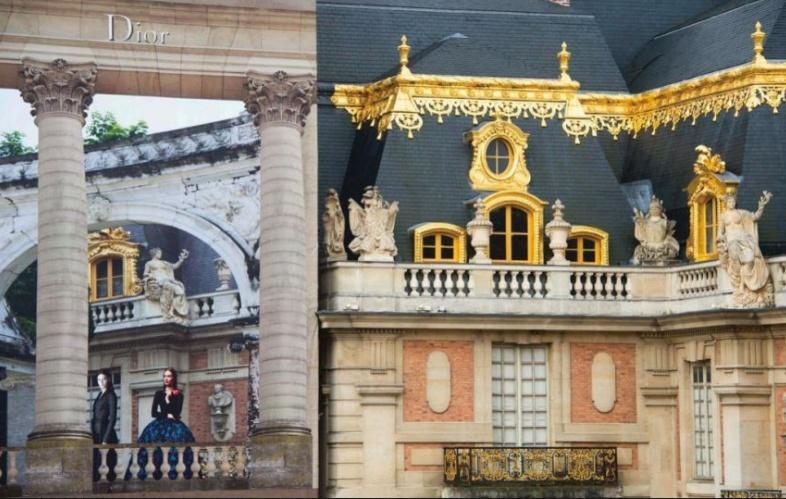 Dior et Versailles Metron14