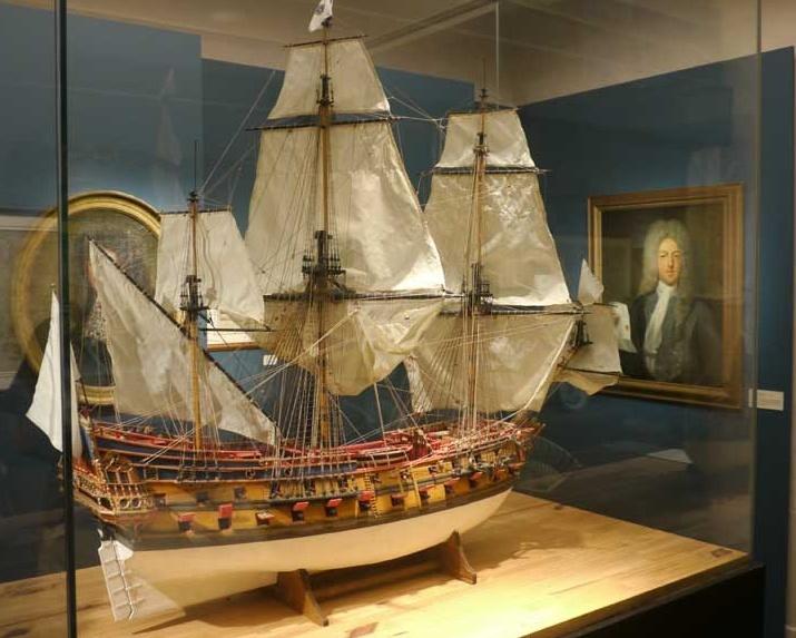 Le musée de la Compagnie des Indes fête ses 30 ans Navire10
