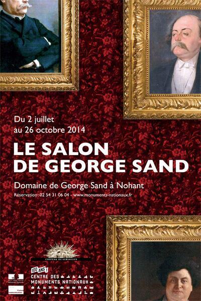 Le Salon de George Sand à Nohant Sand10