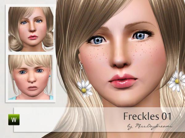 Freckles 01 by MissDaydreams  Freckl10