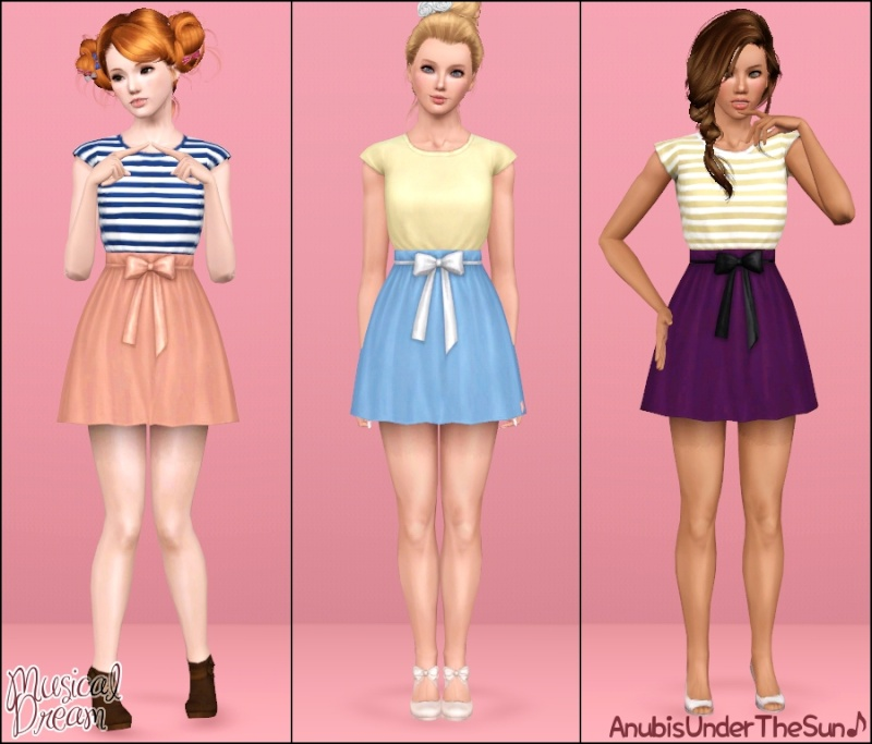 Musical Dream Dress for Teen-Adult by Anubis Musica10