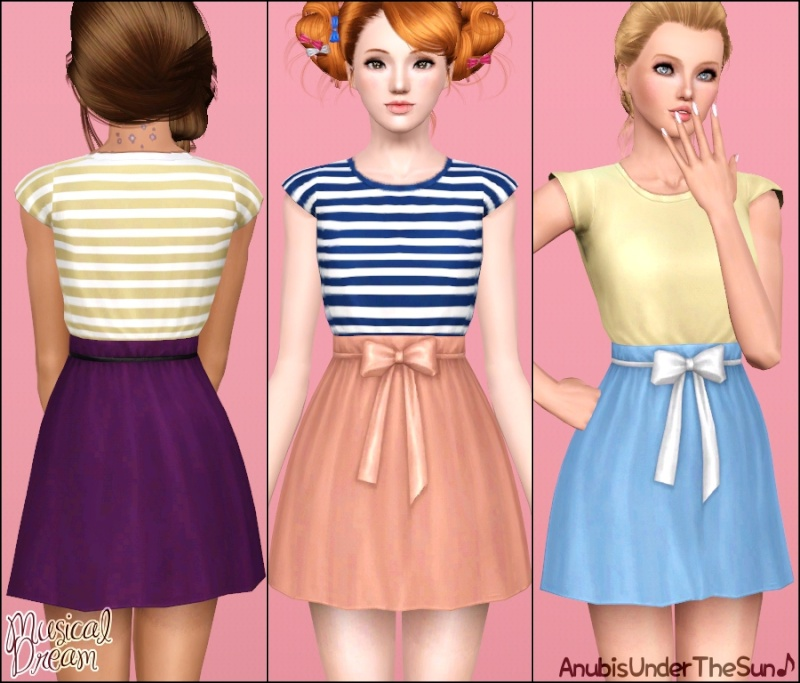 Musical Dream Dress for Teen-Adult by Anubis Musica11
