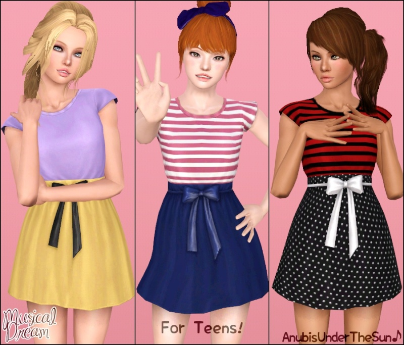 Musical Dream Dress for Teen-Adult by Anubis Musica12