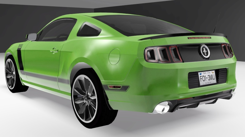2013 Ford Mustang Boss 302 by Fresh-Prince Mustan11