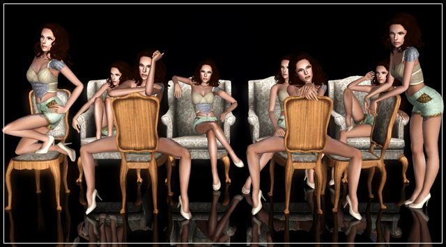 Pose Pack No.6 by Blakc Pack110