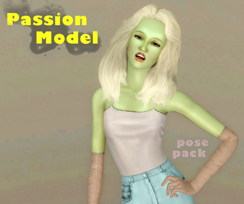 Passion Model Pose Pack by JuBa_0oº Passio10