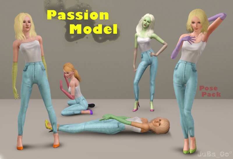 Passion Model Pose Pack by JuBa_0oº Passio12