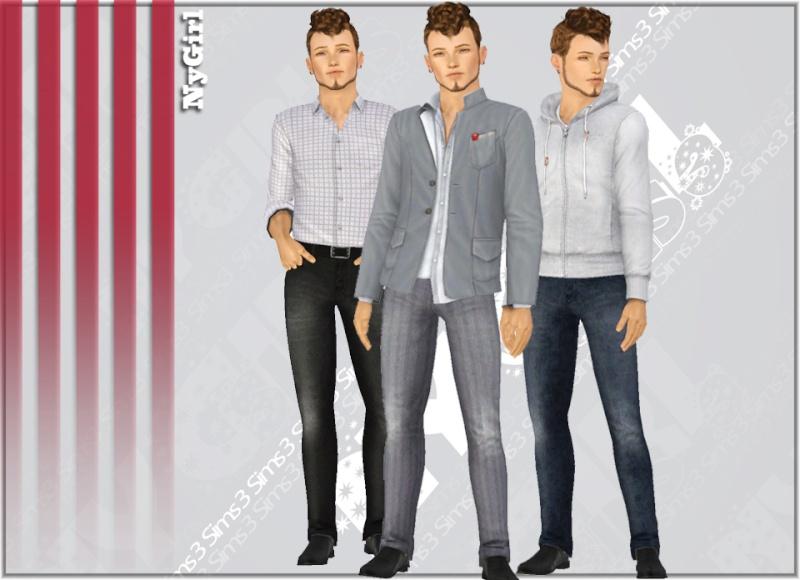 Male Skinny Jeans by NyGirl Skinny10