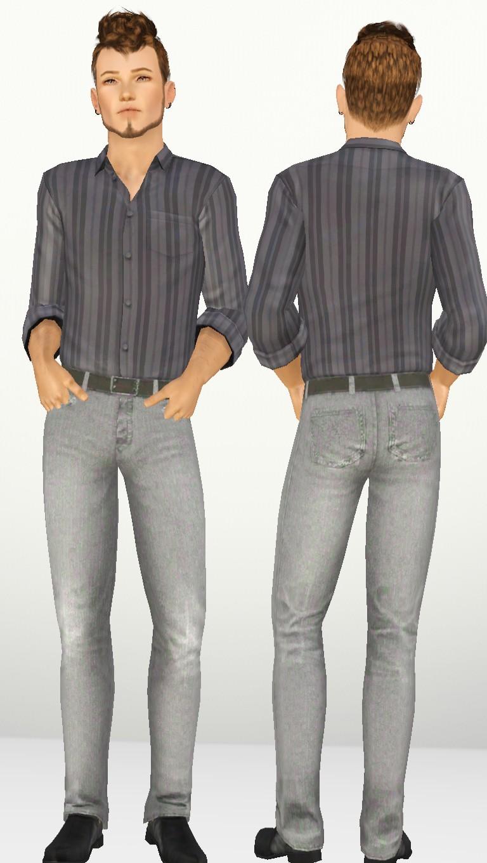 Male Skinny Jeans by NyGirl Skinny11