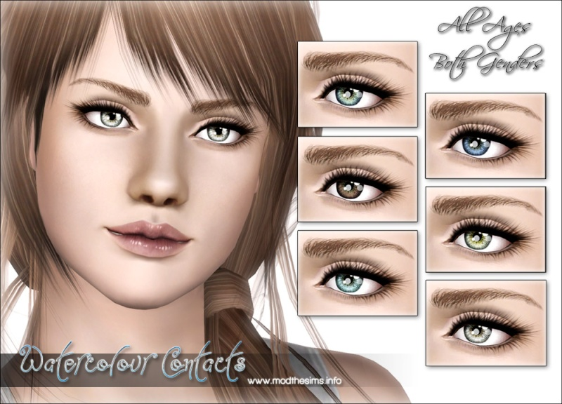 """Watercolour"" – Ultra Small Realistic Contacts by Elexis Waterc11"