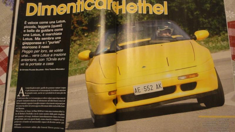 """Su """"Automobilismo d'Epoca"""" di ottobre 26 pagine Lotus  Dsc02712"""