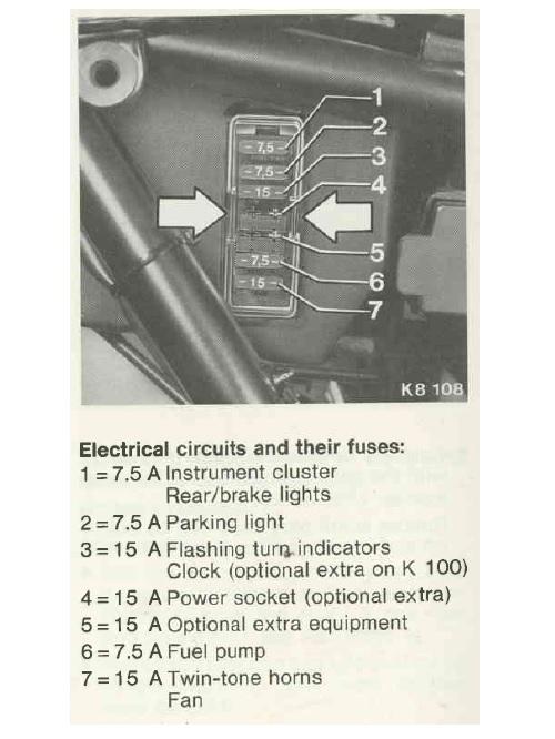 Blowing fuses, headlight not working, brake light kaput  Sikrin10