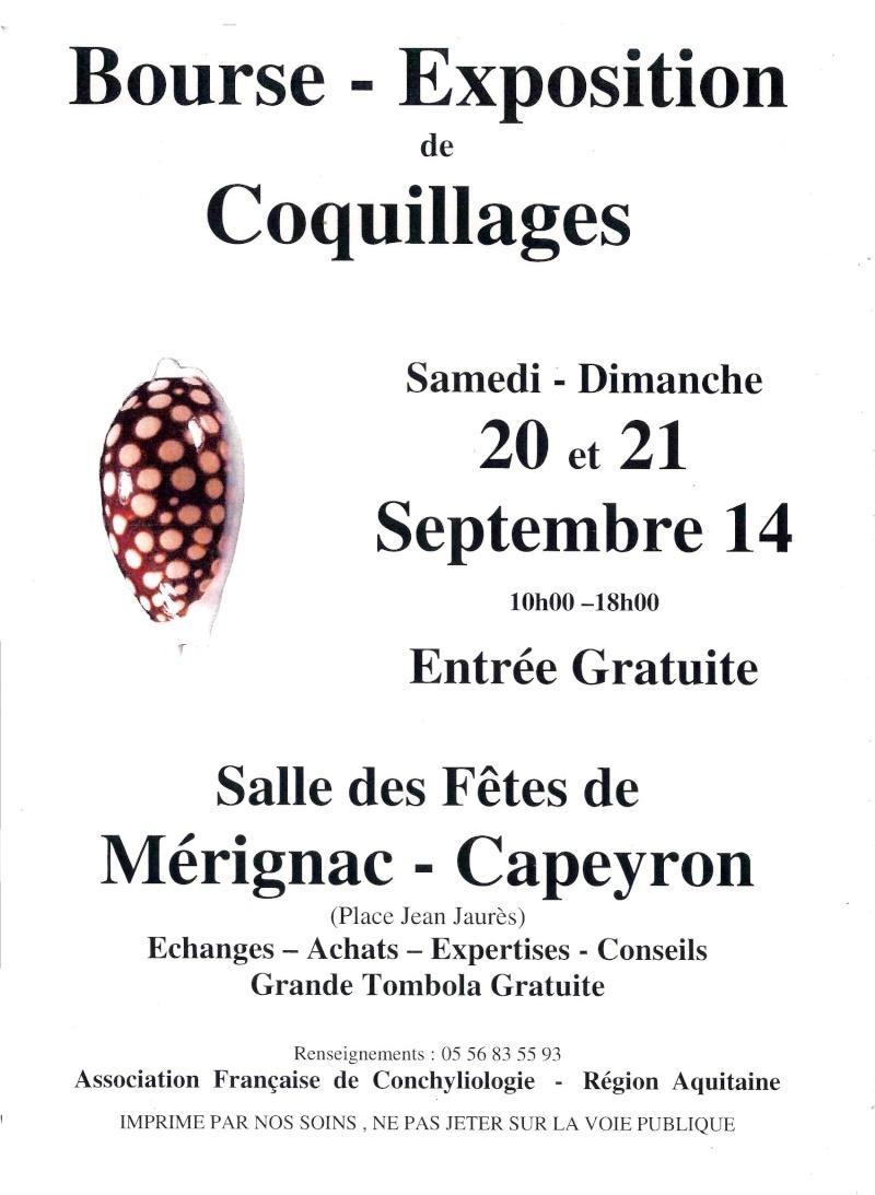 2014 Bourse de Mérignac - 20 & 21 Septembre Affich10