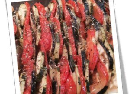 M08 du 1 au 31 aout : tian de légumes Tian10