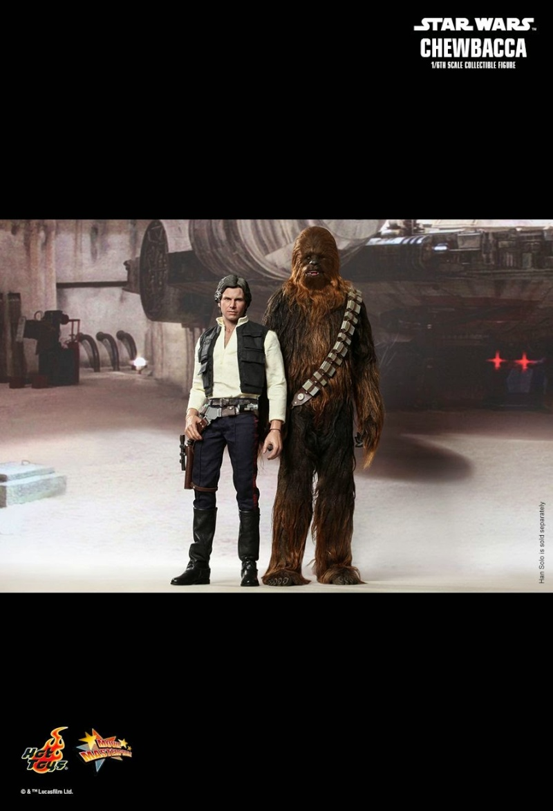 Hot Toys - Star Wars Episode IV - MMS 262 - Chewbacca 834