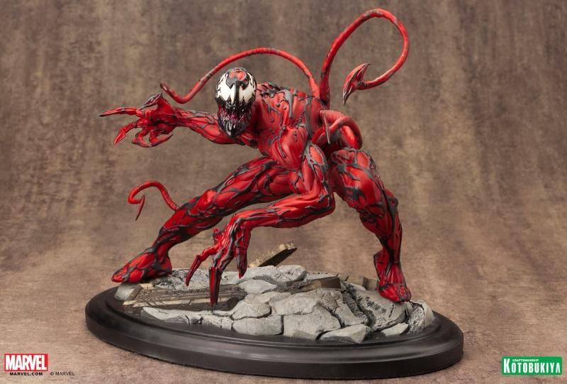 Kotobukiya - Marvel - Fine Art Statue - Carnage Fine-a10