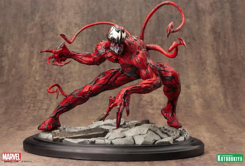 Kotobukiya - Marvel - Fine Art Statue - Carnage Fine-a11