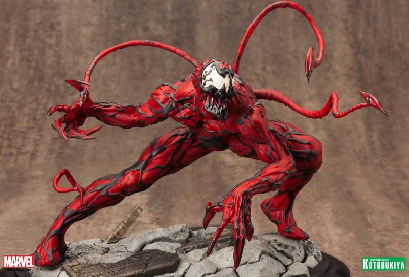 Kotobukiya - Marvel - Fine Art Statue - Carnage Fine-a13