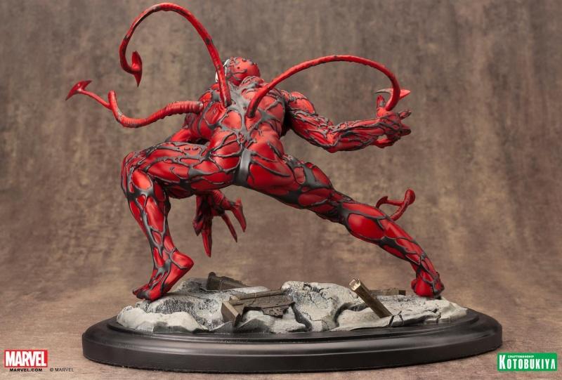 Kotobukiya - Marvel - Fine Art Statue - Carnage Fine-a15