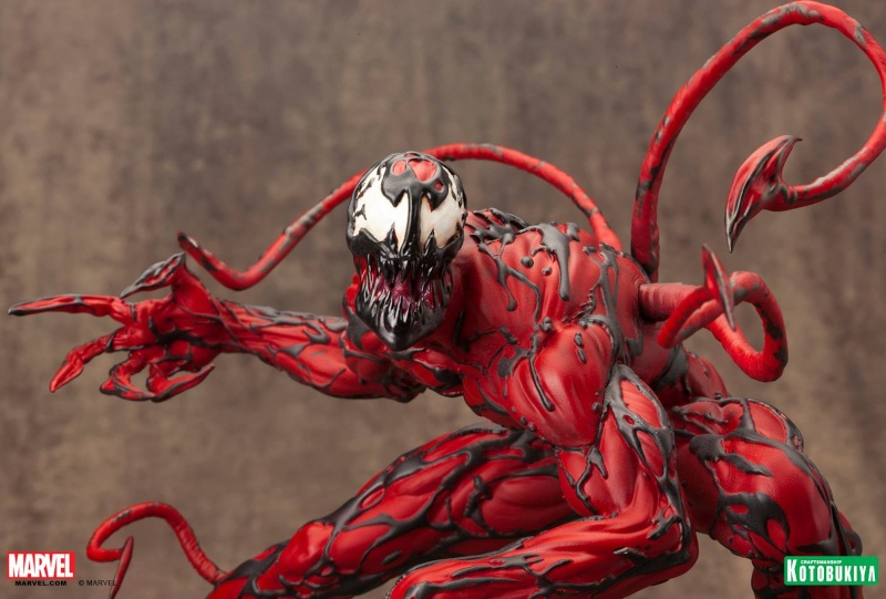 Kotobukiya - Marvel - Fine Art Statue - Carnage Fine-a16