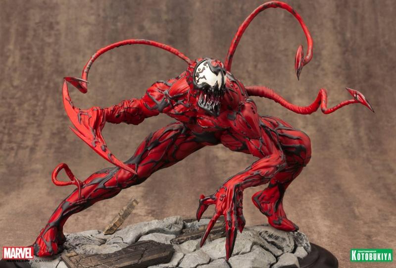 Kotobukiya - Marvel - Fine Art Statue - Carnage Fine-a17