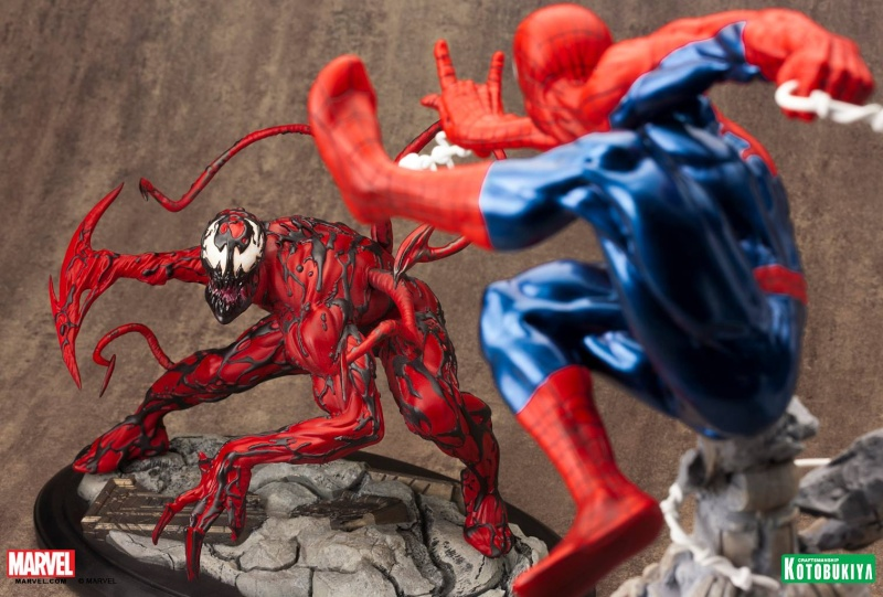 Kotobukiya - Marvel - Fine Art Statue - Carnage Fine-a18