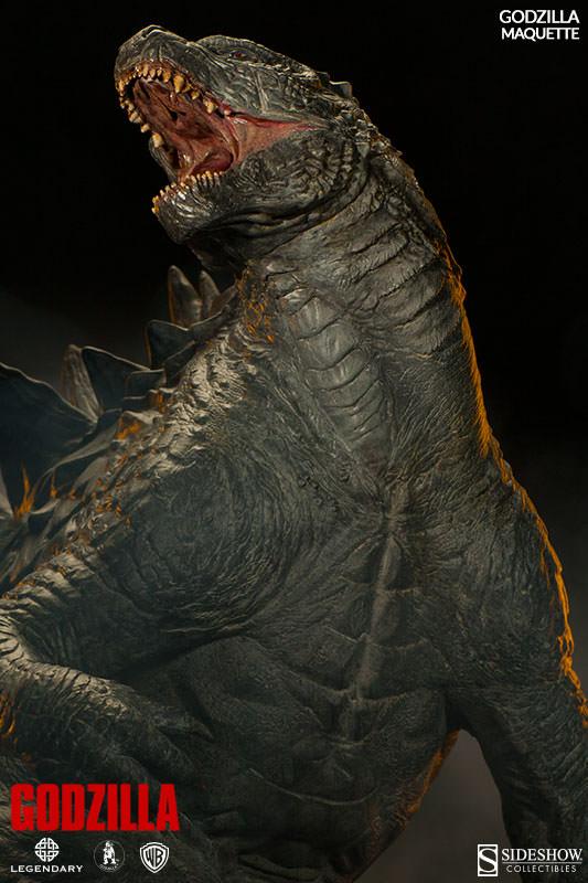 Sideshow - Maquette - Godzilla Godzil11