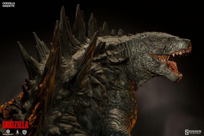 Sideshow - Maquette - Godzilla Godzil16
